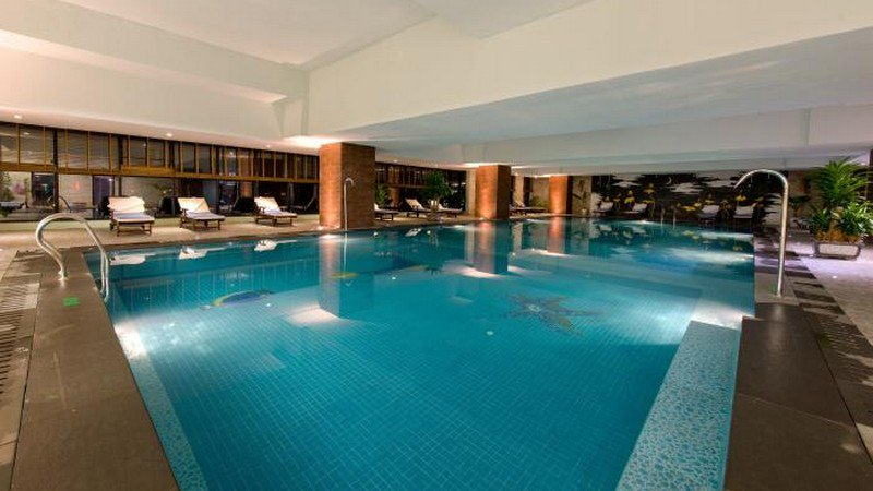 Học bơi tại chung cư thanh hà mường thanh