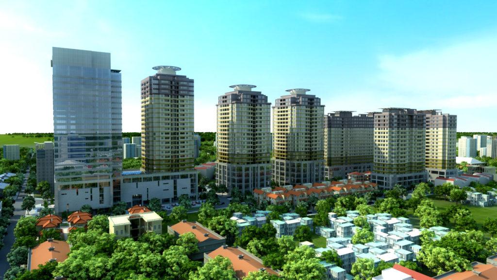 Dự án KĐT Thanh Hà sau khi hoàn thành
