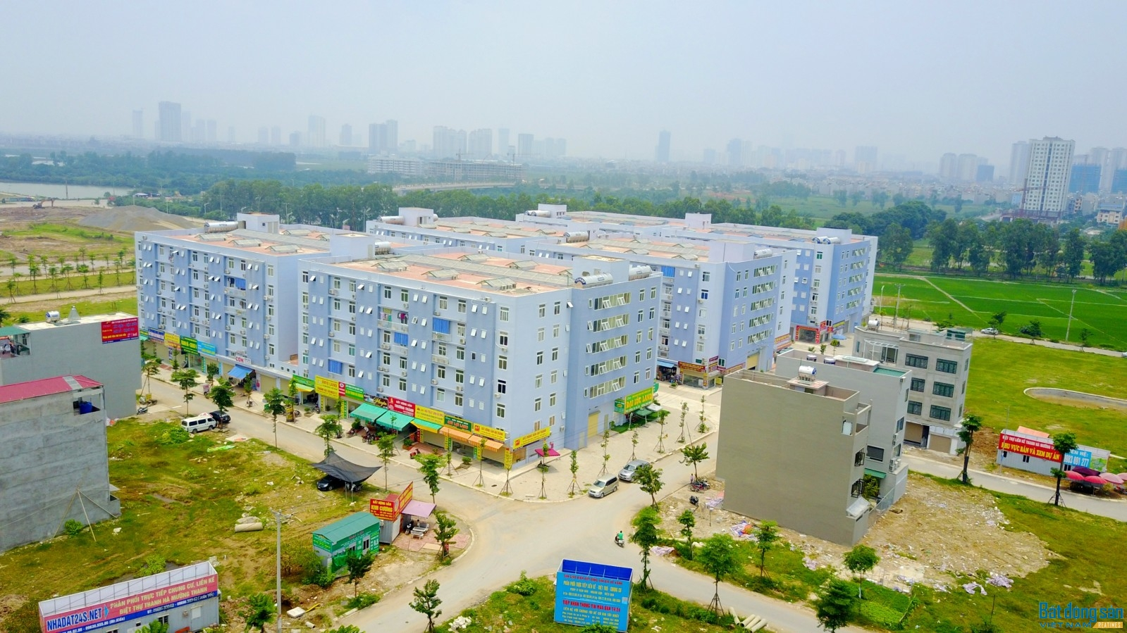 khu đô thị Mường Thanh được nhiều sự quan tâm